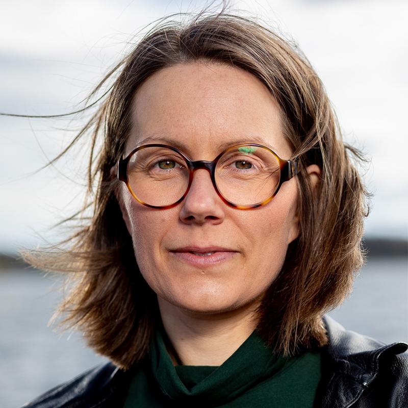 Helene Guåker er lærer ved forfatterlinjen vår