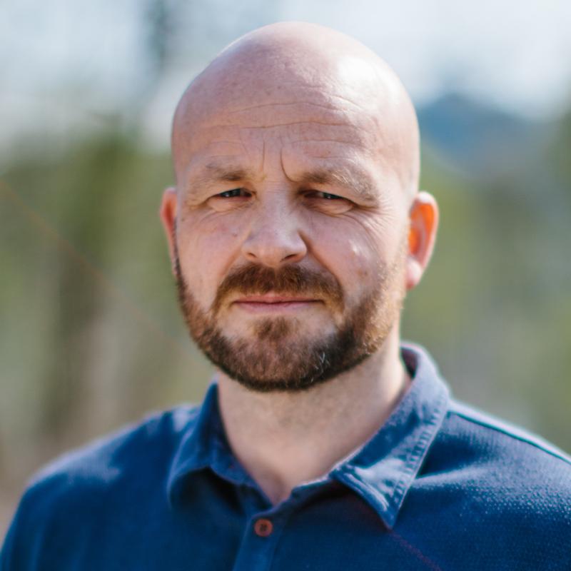 Kyrre Andreassen er lærer ved forfatterlinja.